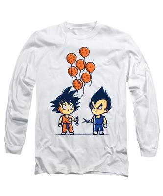 Gohan Long Sleeve T Shirts Pixels