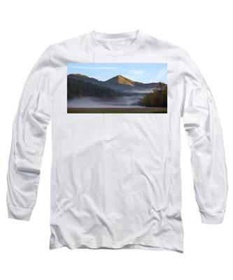 Ground Fog In Cataloochee Valley - October 12 2016 Long Sleeve T-Shirt
