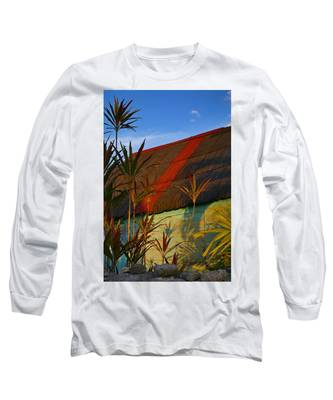 Long Sleeve T-Shirt featuring the photograph It's My Party by Skip Hunt
