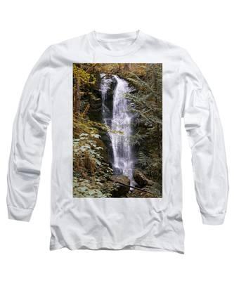 Magical Falls Quinault Rain Forest Long Sleeve T-Shirt