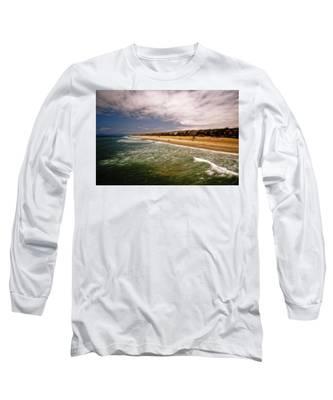 Manhattan Beach Surrealist Long Sleeve T-Shirt