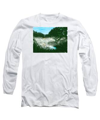 Mist On The River Ouse Long Sleeve T-Shirt