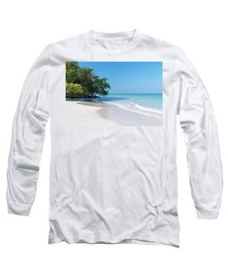 Negril Beach Morning Long Sleeve T-Shirt
