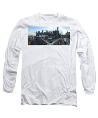 Times Square Long Sleeve T-Shirts