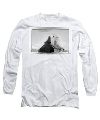 Old Grain Elevator Long Sleeve T-Shirt