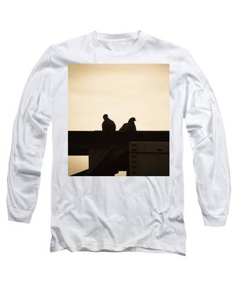 Pigeon And Steel Long Sleeve T-Shirt