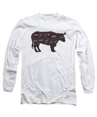 Texture Long Sleeve T-Shirts