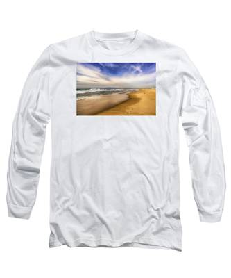 Quiet Reflections Of Hermosa Long Sleeve T-Shirt