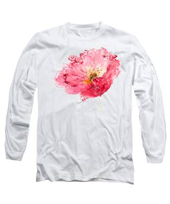 Red Poppy Painting Long Sleeve T-Shirt