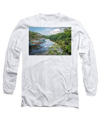 River Views In Negril, Jamaica Long Sleeve T-Shirt