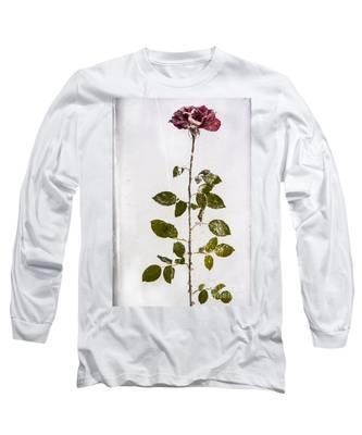 Rose Frozen Inside Ice Long Sleeve T-Shirt