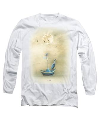 Sailing By The Moon Long Sleeve T-Shirt