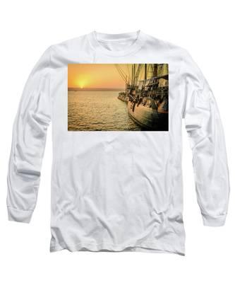 San Diego Sunset Long Sleeve T-Shirt