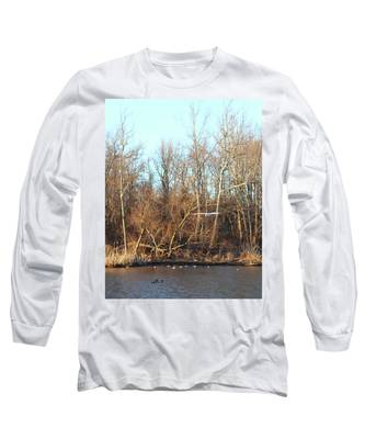 Seagull Flying Long Sleeve T-Shirt