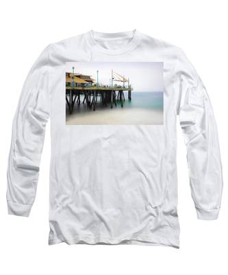 Softly On The Pier Long Sleeve T-Shirt