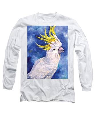 Sulphur-crested Cockatoo Long Sleeve T-Shirt