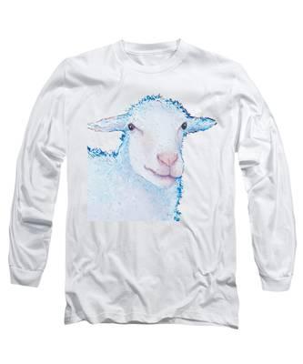 T-shirt With Sheep Design Long Sleeve T-Shirt