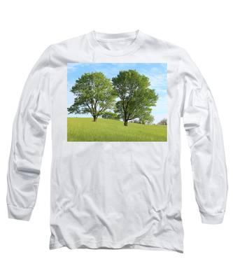 Summer Trees 4 Long Sleeve T-Shirt