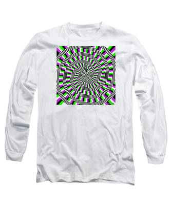 Self-moving Unspiral Long Sleeve T-Shirt
