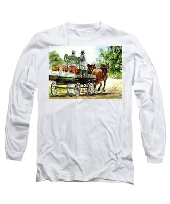 Victoria Bitter, Working Clydesdales. Long Sleeve T-Shirt