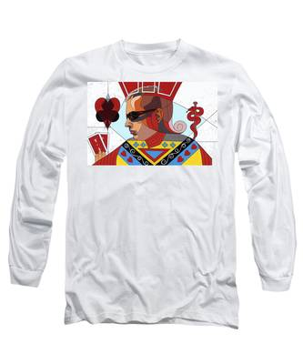 The Oracle Poker Player Long Sleeve T-Shirt