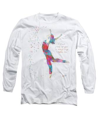 Beloved Deanna Radiating Love And Light Long Sleeve T-Shirt