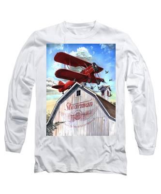 Barn Stormer - Customizeable Long Sleeve T-Shirt
