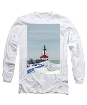 Catwalk And Lighthouses Long Sleeve T-Shirt