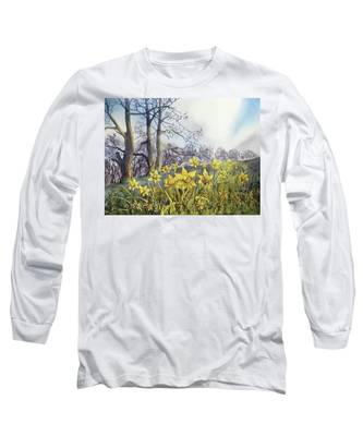 Field Of Hope At Burton Agnes Long Sleeve T-Shirt