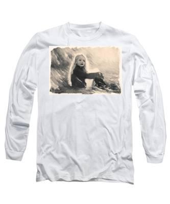 Girl In Jodpurs Long Sleeve T-Shirt