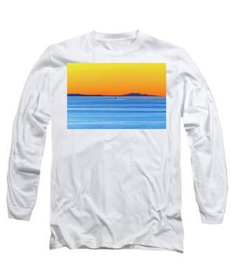 Golden Sunset Series I I Long Sleeve T-Shirt