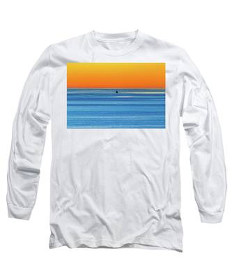 Golden Sunset Series I I I Long Sleeve T-Shirt