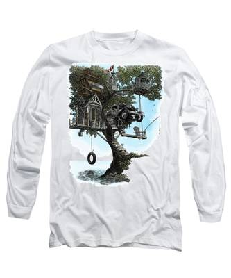 Lake Front Dream House Long Sleeve T-Shirt
