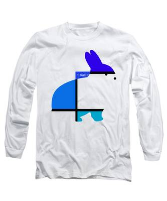 Lapin Agile Blue Long Sleeve T-Shirt