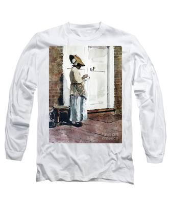 Needle Point Long Sleeve T-Shirt