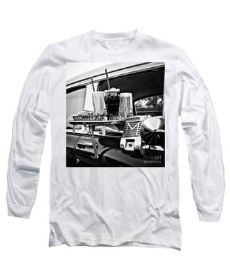 Night At The Drive-in Movies Long Sleeve T-Shirt