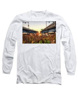 North Grand Island Bridges Long Sleeve T-Shirt