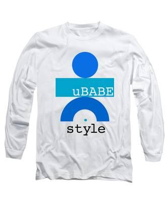 Ocean Blue Babe Long Sleeve T-Shirt