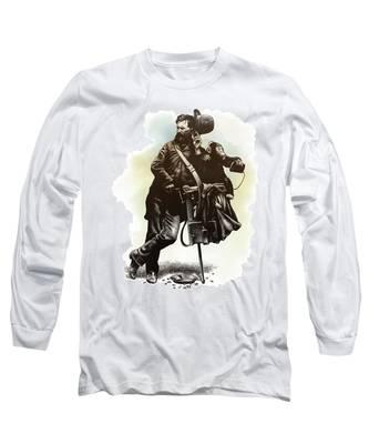 Organ Grinder Long Sleeve T-Shirt