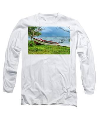 Rainy Fishing Day Long Sleeve T-Shirt