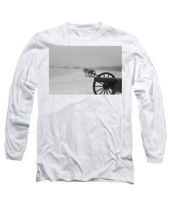 Row Of Cannon Long Sleeve T-Shirt