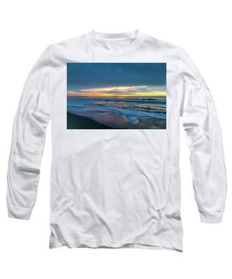 Sunset Fire Over Catalina Island 2 Long Sleeve T-Shirt