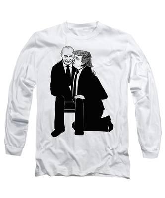 Trump On Knees Long Sleeve T-Shirt