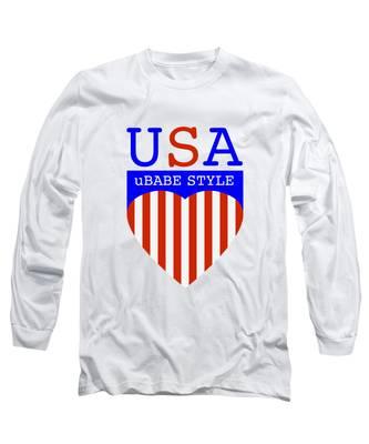 Ubabe Style America Long Sleeve T-Shirt