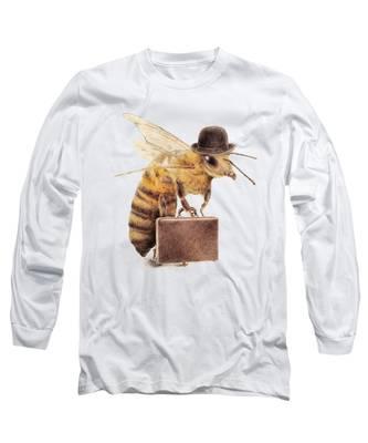 Honey Bee Long Sleeve T-Shirts
