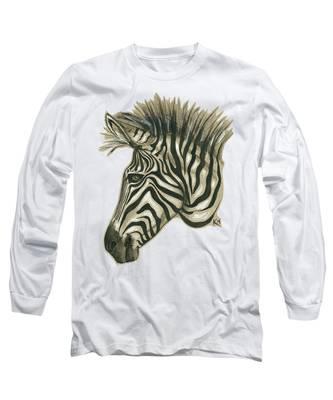 Zebra Profile Long Sleeve T-Shirt