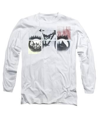 Cyclist Long Sleeve T-Shirts