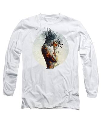 Young Woman Long Sleeve T-Shirts