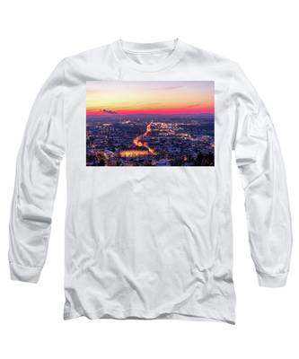 City Lights Long Sleeve T-Shirts