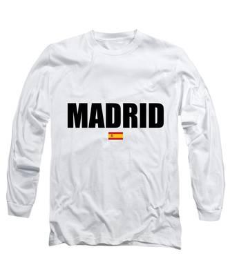Madrid Long Sleeve T-Shirts